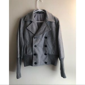 Company by Ellen Tracy / Wool Blend Button Blazer